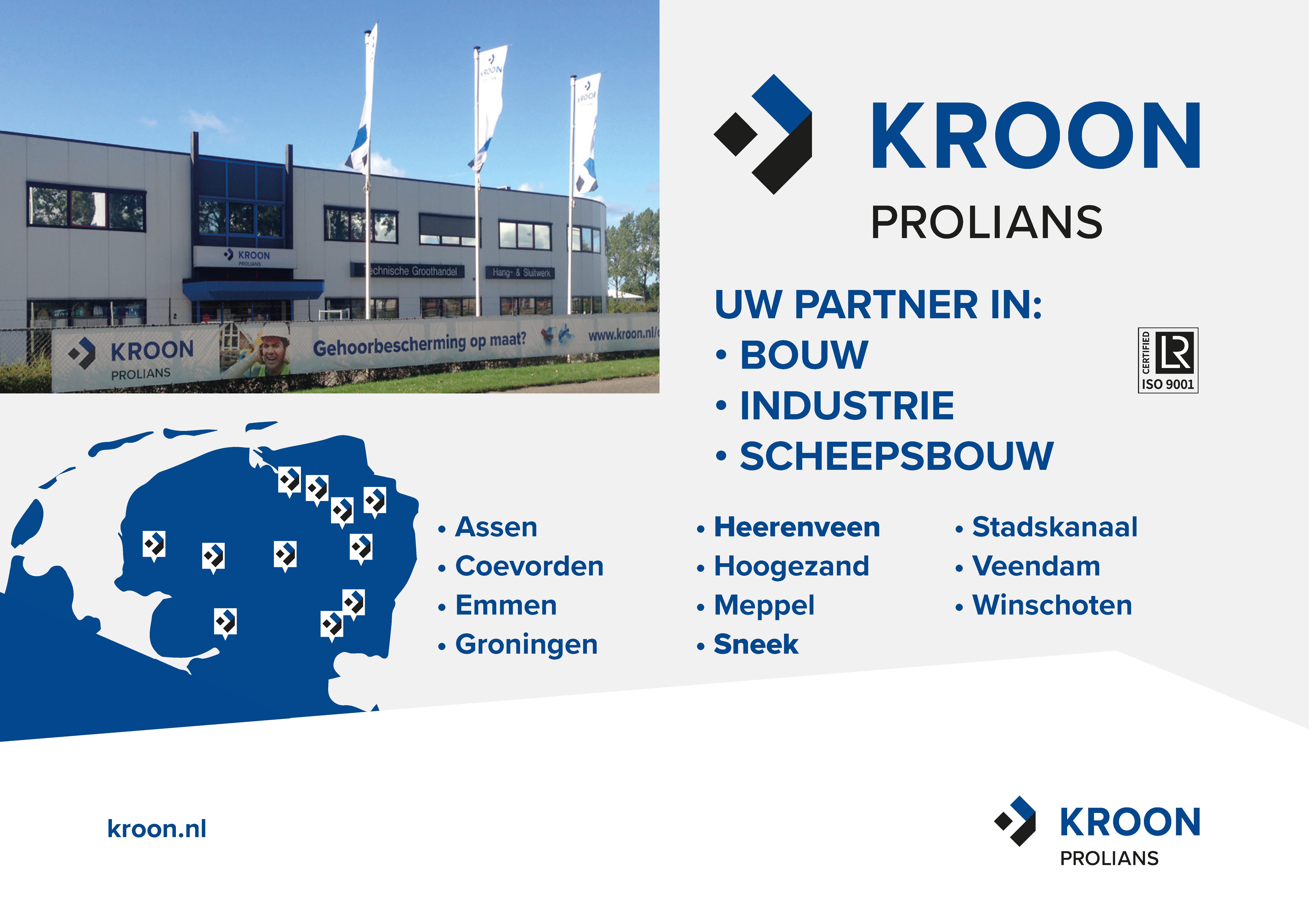 Adv Kroon. A6 landscape de Edelzanger